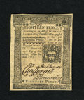 Colonial Notes:Pennsylvania, Pennsylvania October 25, 1775 18d Gem New. An unmolested andunadulterated gem that is certainly amongst the finest one coul...