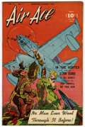 "Golden Age (1938-1955):Science Fiction, Air Ace V3#7 Davis Crippen (""D"" Copy) pedigree (Street & Smith,1947) Condition: VF. Bob Powell voodoo bondage cover. All at..."