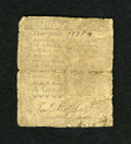 Colonial Notes:Pennsylvania, Pennsylvania April 3, 1772 4d Good. A well repaired note that hasits fair share of problems....