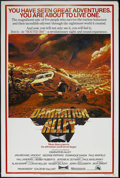 """Movie Posters:Science Fiction, Damnation Alley (20th Century Fox, 1977). Poster (40"""" X 60""""). Sci-Fi Thriller. Starring Jan-Michael Vincent, George Peppard,..."""