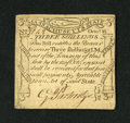 Colonial Notes:Massachusetts, Massachusetts October 16, 1778 3s Choice About New+++. An exceptional codfish note that has superb eye appeal with bold sign...