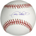 Autographs:Baseballs, Gary Sheffield Single Signed Baseball. Sparkling example of GarySheffield's signature appears on the sweet spot of the cle...