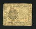Colonial Notes:Continental Congress Issues, Continental Currency May 10, 1775 $7 Fine-Very Fine. A moderatelycirculated example of this scarcer first Continental emiss...