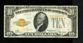 Small Size:Gold Certificates, Fr. 2400 $10 1928 Gold Certificate. Very Fine.. A nice original VF note that is fresh and bright with great color and except...
