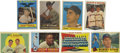 Autographs:Sports Cards, 1957-60 Topps Baseball Card Group Lot of 8, Signed by 2. Two signed cards are included here in this fine lot of cards from ...