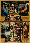 "Movie Posters:Academy Award Winners, Ben-Hur (MGM, 1960). Italian Photobustas (8) (19"" X 26.25""). Academy Award Winners.. ... (Total: 8 Items)"