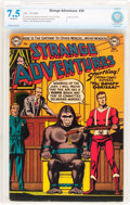 Golden Age (1938-1955):Science Fiction, Strange Adventures #39 (DC, 1953) CBCS VF- 7.5 Off-white pages....