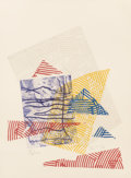 Post-War & Contemporary:Contemporary, Sam Gilliam (b. 1933). Buoy Landscape III, 1982. Etching andscreenprint in colors on wove paper. 24-1/2 x 20 inches (62...