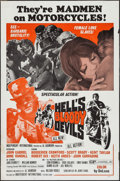 """Movie Posters:Exploitation, Hell's Bloody Devils & Others Lot (Independent-International,1970). One Sheets (6) (27"""" X 41""""). Exploitation.. ... (Total: 6Items)"""