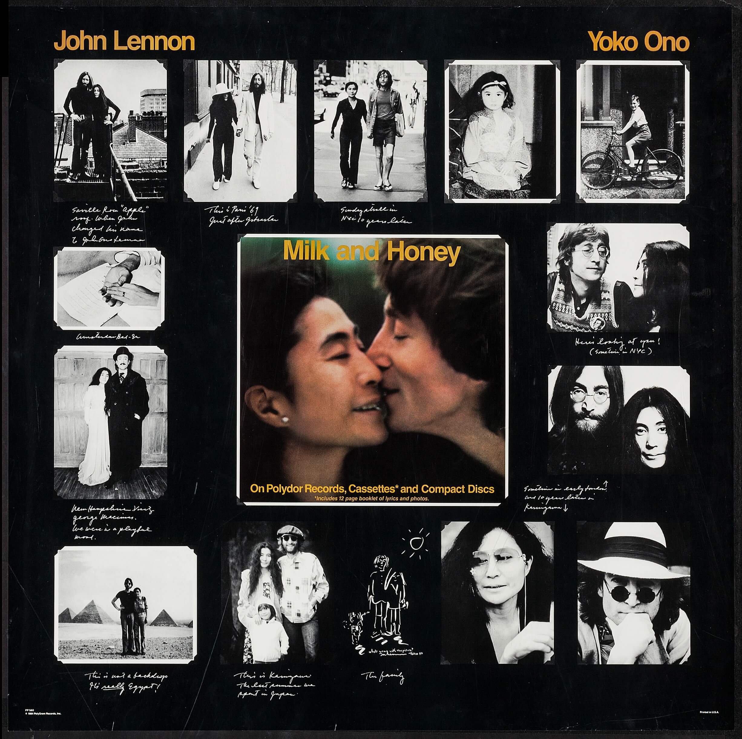 Milk And Honey By John Lennon And Yoko Ono Polygram 1984 Album Lot 52239 Heritage Auctions