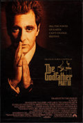 "Movie Posters:Crime, The Godfather Part III (Paramount, 1990). One Sheets (2) (27"" X 40"") SS Advance & Regular Style. Crime.. ... (Total: 2 Items)"