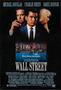 """Movie Posters:Crime, Wall Street (20th Century Fox, 1987). One Sheet (26.75"""" X 39.75""""). Crime.. ..."""