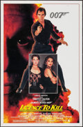 "Movie Posters:James Bond, Licence to Kill (United Artists, 1989). One Sheet (27"" X 41"") StyleB. James Bond.. ..."