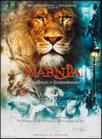 The Chronicles of Narnia: The Lion, the Witch and the Wardrobe & Others Lot (Buena Vista, 2005). Danish Posters (4)...