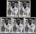 Baseball Cards:Lots, Lou Brock Signed Cards Lot of 100. ...