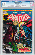 Bronze Age (1970-1979):Horror, Tomb of Dracula #10 (Marvel, 1973) CGC VF/NM 9.0 White pages....