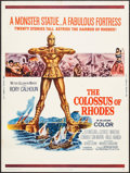 "Movie Posters:Adventure, The Colossus of Rhodes & Others Lot (MGM, 1961). Posters (4)(30"" X 40""). Adventure.. ... (Total: 4 Items)"