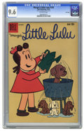 Silver Age (1956-1969):Humor, Marge's Little Lulu #136 File Copy (Dell, 1959) CGC NM+ 9.6 Off-white pages. Overstreet 2005 NM- 9.2 value = $70. CGC census...