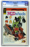 Bronze Age (1970-1979):Miscellaneous, Mod Wheels #7 File Copy (Gold Key, 1972) CGC NM 9.4 Off-whitepages. Jack Sparling art. Overstreet 2005 NM- 9.2 value = $28....