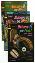 Silver Age (1956-1969):Horror, Ripley's Believe It or Not! True Ghost Stories Group (Gold Key,1972-78) Condition: Average VF/NM. Spooky group of Ripley'...