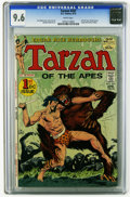 Bronze Age (1970-1979):Miscellaneous, Tarzan #207 (DC, 1972) CGC NM+ 9.6 White pages. First DC issue.Origins of Tarzan and John Carter of Mars. Joe Kurbert story...