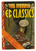 """Golden Age (1938-1955):Horror, Three Dimensional EC Classics #1 (EC, 1954) Condition: GD-.According to Overstreet this issue is """"rare in high grade due to..."""