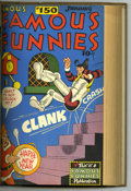 Golden Age (1938-1955):Miscellaneous, Famous Funnies #145-156 Bound Volume (Eastern Color, 1946-47). These are Western Publishing file copies of Famous Funnies
