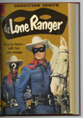 Silver Age (1956-1969):Western, The Lone Ranger #121-132 Bound Volume (Dell, 1958-60). WesternPublishing file copies of The Lone Ranger #121, 122, 123,...