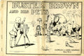 """Memorabilia:Comic-Related, Buster Brown and His Pets (Frederick A. Stokes Co., 1913) Condition: PR. This copy of the """"Platinum Age"""" comic has twenty-th..."""