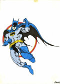 """Original Comic Art:Sketches, Kane - Batman Illustration (undated). This drawing of Batman is signed """"Kane."""" It may have been created as merchandising or ..."""