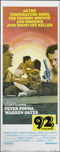 """Movie Posters:Drama, 92 in the Shade (United Artists, 1975). Insert (14"""" X 36""""). Peter Fonda takes a job as a fishing guide in Florida, where he ..."""