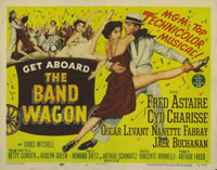 """The Band Wagon (MGM, 1953). Title Lobby Card (11"""" X 14"""") and Lobby Cards (3) (11"""" X 14""""). Fred Astai..."""