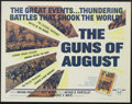 """Movie Posters:Documentary, The Guns of August (Universal, 1965). Half Sheet (22"""" X 28""""). This documentary about World War I follows the build-up from t..."""
