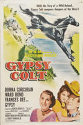 """Movie Posters:Children's, Gypsy Colt (MGM, 1954). One Sheet (27"""" X 41""""). Frank (Ward Bond) and Meg MacWade (Frances Dee) dread telling their daughter ..."""