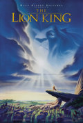 "Movie Posters:Animated, The Lion King (Buena Vista, 1994). One Sheet (27"" X 41""). Disney'sGolden Globe and Oscar winning film about a guilt-ridden ..."