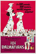 "Movie Posters:Animated, One Hundred and One Dalmatians (Buena Vista, R-1972). One Sheet (27"" X 41""). When a fashion designer in search of a unique f..."