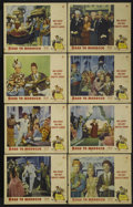 """Movie Posters:Comedy, Road to Morocco (Paramount, 1942). Lobby Card Set of 8 (11"""" X 14"""").Penniless and shipwrecked on the coast of Africa, Bob Ho... (Total:8 Items)"""