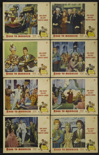 """Road to Morocco (Paramount, 1942). Lobby Card Set of 8 (11"""" X 14""""). Penniless and shipwrecked on the coast of..."""
