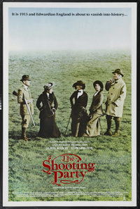 """The Shooting Party (European Classics, 1985). One Sheet (27"""" X 41""""). In 1913, on the eve of World War I, Sir R..."""