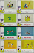"Movie Posters:Animated, Snoopy, Come Home (National General, 1972). Lobby Card Set of 8(11"" X 14""). The gang from ""Peanuts"" go in search of Snoopy,...(Total: 8 Items)"