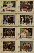 "Movie Posters:War, So Proudly We Hail (Paramount, 1943). Lobby Card Set of 8 (11"" X14""). Claudette Colbert, Paulette Goddard, Veronica Lake, G...(Total: 8 Items)"