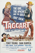"Movie Posters:Western, Taggart (Universal, 1964). One Sheet (27"" X 41""). Based on the Louis L'Amour novel, ""Taggart"" stars Tony Young as Kent Tagga..."