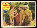 "Tarzan Escapes (MGM, 1936). Lobby Card (11"" X 14""). John Buckler plays the villain trying to capture Tarzan (J..."