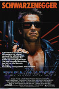 "Movie Posters:Science Fiction, The Terminator (Orion, 1984). One Sheet (27"" X 41""). ""That terminator is out there. It can't be bargained with. It can't be ..."