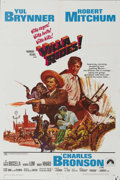 "Movie Posters:War, Villa Rides (Paramount, 1968). One Sheet (27"" X 41""). Yul Brynnerstars as Pancho Villa in this film rewritten twice to clea..."