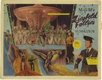 "Ziegfeld Follies (MGM, 1946). Lobby Cards (2) (11"" X 14""). Escapist musical featuring the heavenly remnant of..."