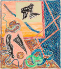 Prints:Contemporary, Frank Stella (b. 1936). Shards I, 1988. Offset lithographand screenprint in colors on wove paper. 45 x 40 inches (114.3...
