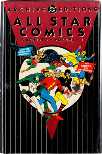 DC Archive Editions All Star Comics Vol. 1-8 (DC, 1991-2002) Condition: NM.... (Total: 8 Items)