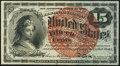 Fractional Currency:Fourth Issue, Fr. 1271 15¢ Fourth Issue Choice About New.. ...
