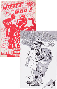 Hairy Who Art Comix Group of 2 (Harbinger University Press, 1966-68) Condition: Average VF.... (Total: 2 Comic Books)